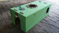 Casinha para Gatos caixa de papelão