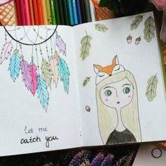 Идеи для личного дневника для девочек Secret Diary, Painting For Kids, Dream Catcher, Book Art, Diy And Crafts, Notebook, Bullet Journal, Drawings, Google