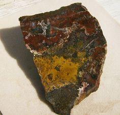 Jasper/Agate Slab  Very Colorful Large Stone by JewelryArtistry