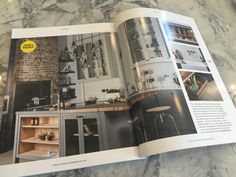 The W9 kitchen features as Editor's Favourite in the June 16 issue of Utopia.