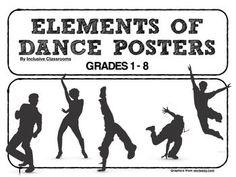 Grade 3 Dance Activity Bundle (Based on Ontario Curriculum