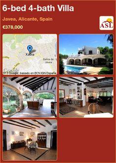 6-bed 4-bath Villa in Javea, Alicante, Spain ►€378,000 #PropertyForSaleInSpain