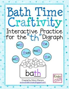 This is a craftivity that provides students with fun, interactive practice for reading and writing words with the
