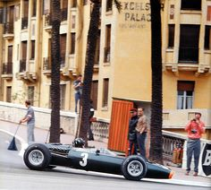 Graham Hill | BRM P261 | Monaco Grand Prix