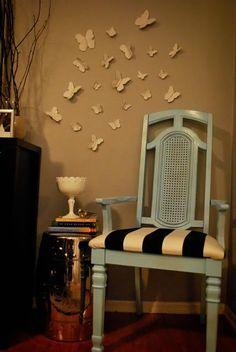 DIY 3D Butterfly Wall Art DIY Wall Art DIY Crafts DIY Home