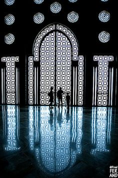 Masjid Al-Hassan II, La grande mosquée, Casablanca                           by  El Gato Negro
