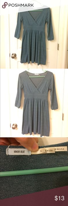 Urban Outfitters tunic dress Super soft! Preloved with mild pilling - not very noticeable - and in excellent condition otherwise (no stains or holes). Looks great with boots! Have I mentioned how soft it is? So comfortable and a gorgeous color. Price is firm; I don't accept offers. No trades. Bundle and save! Urban Outfitters Dresses Mini
