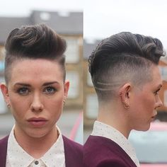 25 Modern Hairstyles for Short Hair Protective Hairstyles, Undercut Hairstyles Women, Tomboy Hairstyles, Short Hair Undercut, Modern Hairstyles, Wild Hairstyles, Pixie Haircuts, Short Hair Styles For Round Faces, Hairstyles For Round Faces
