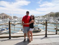 We took a walk to the Marina in Cabo San Lucas...lots of restaurants, bars, and shopping here