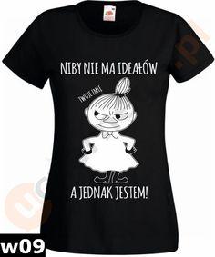 Koszulka Mała Mi:Niby nie ma ideałów a jadnak jest w uczarnego.pl na DaWanda.com