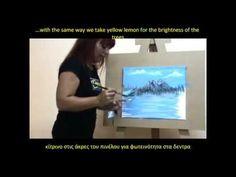 Μαθημα ζωγραφικης Ευα Φιλιππου vol1 - YouTube Diy And Crafts, Youtube, Draw, Painting, To Draw, Painting Art, Sketches, Paintings, Painted Canvas