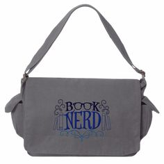 Book Nerd tote bag - I really want a big bag to hold my books, etc at the library.