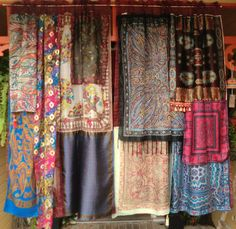 AFTER THE GOLDRUSH  Handmade Gypsy Curtains by BabylonSisters