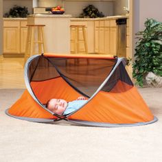 PeaPod - Inflatable travel sleeping area for babies/kids.  Not sure if it is on my wish list, but it might be worth looking in to!