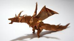 Origami Fiery Dragon (Kade Chan)