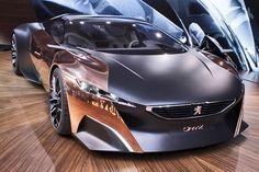 Peugeot's Onyx hybrid supercar
