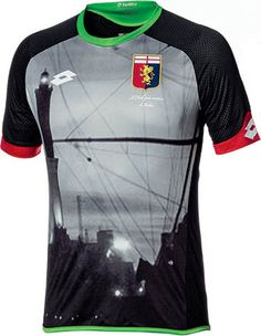 8a7f26ae86f The new Genoa CFC Kits boast modern designs paying homage to the rich  history of the oldest Italian soccer club. Lotto makes the new Genoa Jerseys .