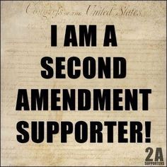 Second Amendment Supporter