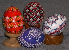 "Lithuanian Easter eggs ""marguciai"""