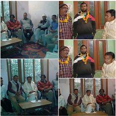 श्रीनगर डांग गावं में सदस्यता अभियान के दौरान...