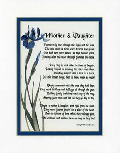 Birthday Poems For Mom From Daughter Uk Daughter Birthday Poems Verses Quotes Free Online Printable For Birthday Poems For Daughter, Birthday Wishes For Mom, Mother Daughter Quotes, Sister Quotes, Family Quotes, Mom Daughter, Nephew Quotes, Birthday Verses, Mother Daughters