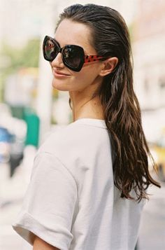 5 rules for pulling off slicked-back hair