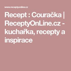 Recept : Couračka | ReceptyOnLine.cz - kuchařka, recepty a inspirace Potato Dishes, Destiel, Brownies, Menu, Potatoes, Diet, Fine Dining, Stew, Cake Brownies
