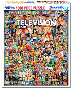 TELEVISION HISTORY - 1000 Piece Jigsaw Puzzle