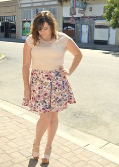 Found this adorable Lauren Conrad skirt at Kohls. Now live on the blog.