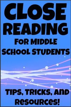 Close Reading for Middle School Students - Featuring excerpts from classic short stories. Step by step guide to text annotation and close reading process! from Creative Classroom Core on Tpt