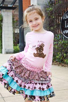 Ruffle Skirt -