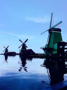 Windmills, Holland.