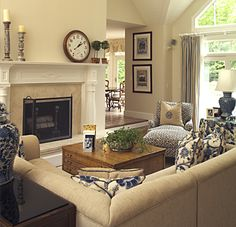 Would like a two way fireplace to be more open to kitchen and breakfast nook...!