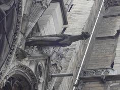 Gárgula na Catedral de Notre-Dame, Paris