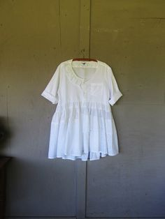 Romantic upcycled clothing prairie dress by lillienoradrygoods