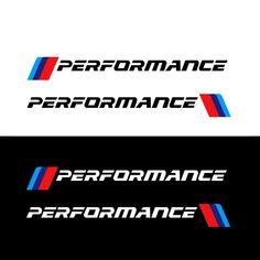 A Pair Front Bumper Sticker Decals M Performance Sport Graphics Sticker For BMW Logo Sticker, Sticker Design, All Bmw Models, Rider Quotes, Go Kart Plans, Jetta Mk5, S1000r, Bmw Performance, Sports Graphics