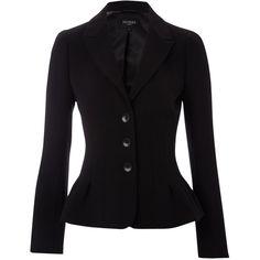 Hobbs Marylebone Jacket, Black ($315) ❤ liked on Polyvore