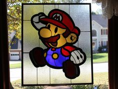 Themed Stained Glass Panels by R. Evan Daniels of Martian Glass Works