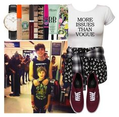 """Picking Up Boyfriend (Ashton) And His Brother (Harry) From The Airport"" by luvonedirection4ever ❤ liked on Polyvore featuring Boohoo, Lilly Pulitzer, Vans, Maybelline, Daniel Wellington, Becca and Rimmel"