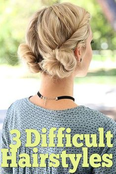 Have you ever spotted a hairstyle from Pinterest but had no idea how to actually do it yourself? We have done all the hard work for you, and found three difficult-looking hairstyles and made them super easy! Now onto the attempts..