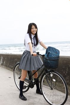 Holding schoolgirl japanese cosplay gray and white shirt Cute School Uniforms, School Uniform Girls, Girls Uniforms, Beautiful Japanese Girl, Beautiful Asian Women, Poses, School Girl Dress, Japanese School Uniform, Vietnamese Dress