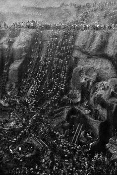 """""""Serra Pelada Altın Madeni İşçileri, Brezilya, 1983..."""""""