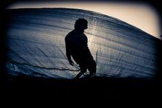 Tarp Surfing by matt porteous, via Behance