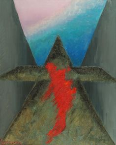 """Suicide angels"", oil painting, 80 x 100 cm, by Altea Leszczynska"