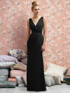 Lela Rose black bridesmaid dress-so excited to find my girls black dresses :)
