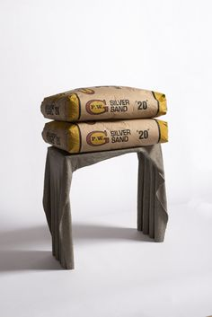 Fabric Concrete Coffee Table
