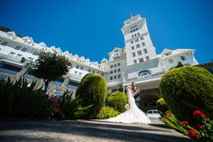 Claremont Hotel Wedding Day, Berkeley Photo © By Stephanie Secrest Hotel Wedding, Our Wedding, Claremont Hotel, Engament Photos, Old Hollywood Glam, Here Comes The Bride, Photo Ideas, Wedding Inspiration, Weddings