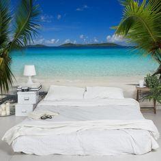 3D Fototapete Meer - Perfect Maledives - Vliestapete Breit