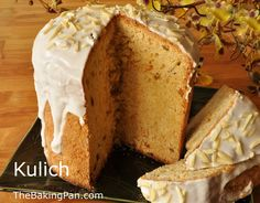 Yeast Bread Recipe   Kulich Recipe