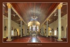 St. Peter's Church, Malacca (West Malaysia) by Larry Haydn on 500px